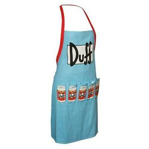 The-Simpsons-DUFF-BEER-BBQ-coton-tablier-NEUF-amp-OFFICIEL-20th-Century-Fox