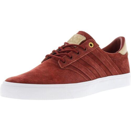 Premiere Adidas b8528 Hombres Talla 9 Zapatos Nuevo Seeley clasificadas Rojo Zapatillas bajas p7q5B7w