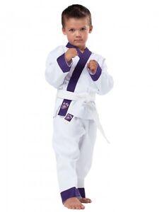 Kwon-Anzug-Drachenkralle-Idealer-Anzug-fuer-junge-Martial-Arts-Kids-80-130cm