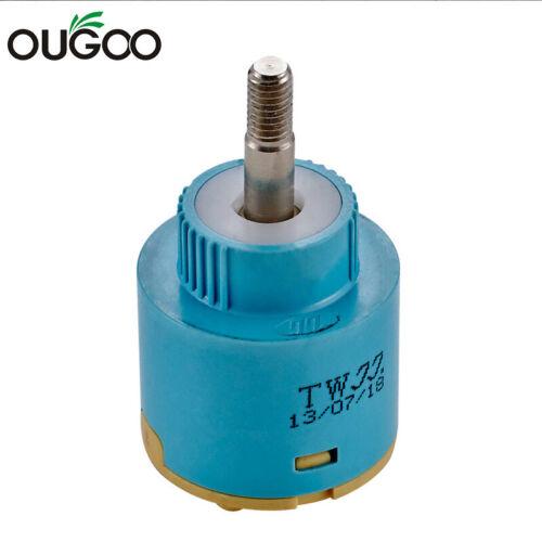OUGOO Faucet Cartridge 35 mm Ceramic Valve 360 Rotation Faucet Accessories