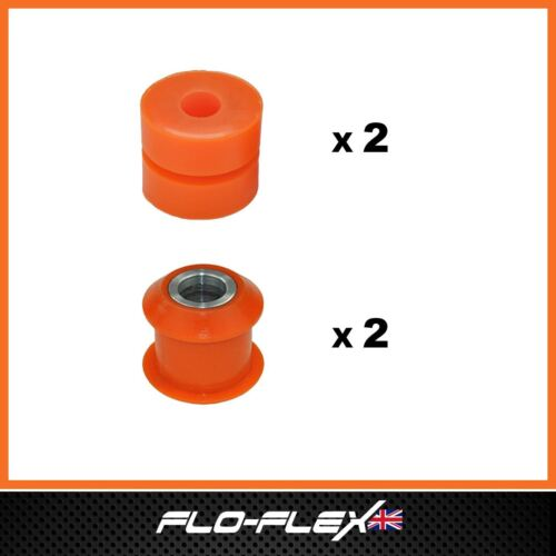 Mazda MX5 Bushes MK2 Rear Shock Absorbers Top /& Bottom Poly Polyurethane Bush