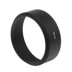 Universal-55mm-Long-Focus-Lens-Hood-Screw-In-Mount-For-Canon-DSLR-SLR-Camera