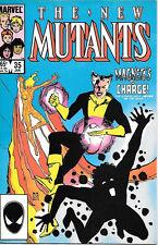 The New Mutants Comic Book #35 Marvel Comics 1986 VERY FINE  NEW UNREAD
