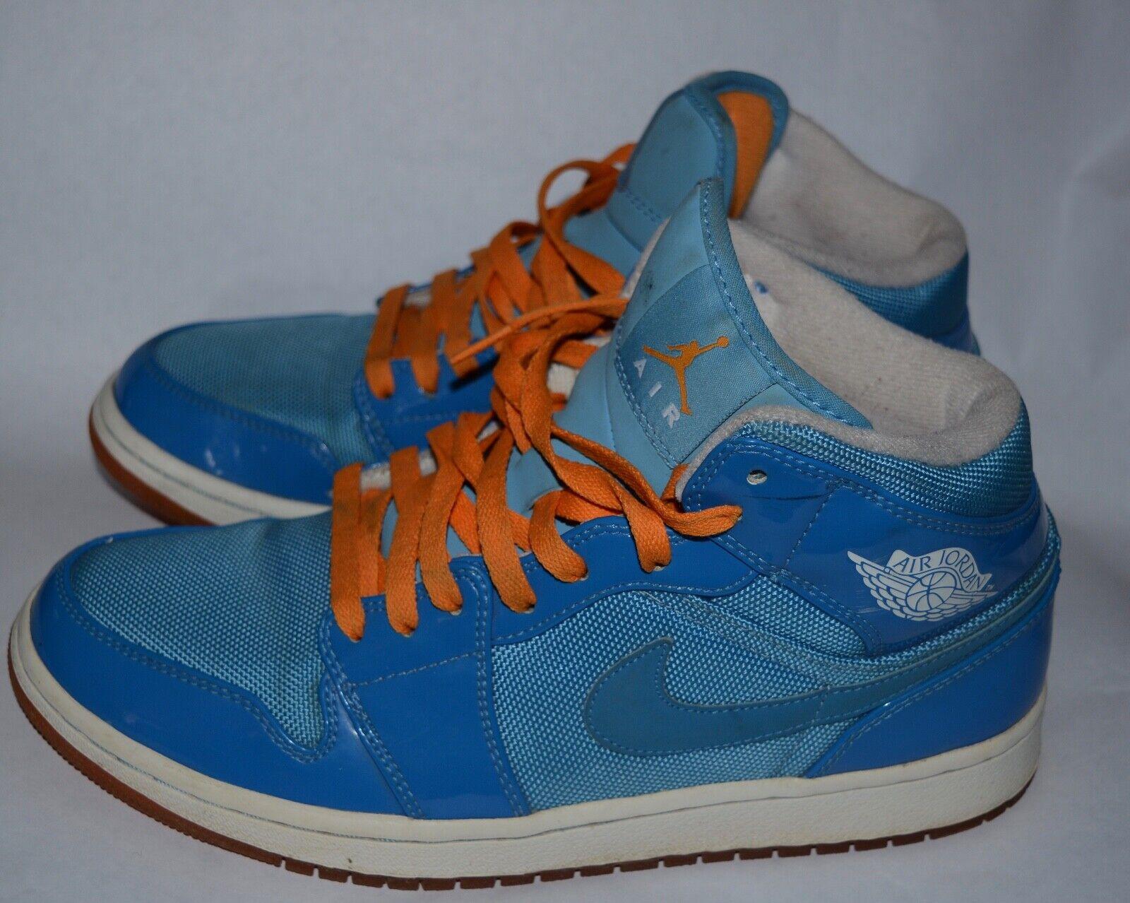 Nike Air Jordan 1 One Phat Mid Year Of Of Of The Dragon bluee orange 364770-403 Sz 8.5 c967c8