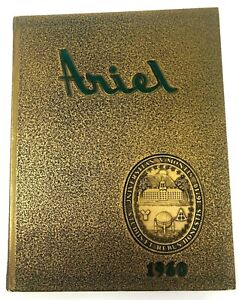1960-Vintage-University-of-Vermont-ARIEL-Year-Book-Very-Good-Condition