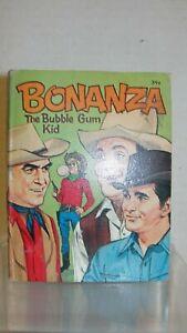 1967-WHITMAN-LITTLE-BIG-BOOK-034-BONANZA-THE-BUBBLE-GUM-KID-034