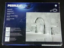 Chrome P299196LF Peerless Claymore 2-Handle Widespread Bathroom Faucet with Pop-Up Drain Assembly