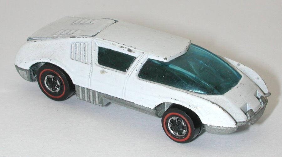 rojoline Hotwheels blancoo 1971 equipo en boxes oc16056