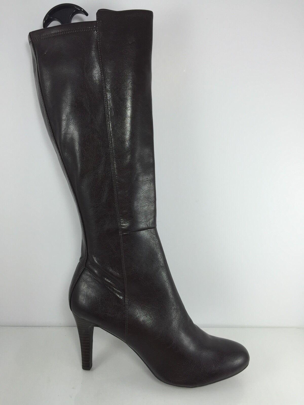 Franco Sarto Donna Donna Knee Sarto Dark marrone Knee Donna Stivali 11 M 894b15   013e68