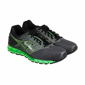 0dbae24a Details about {T6G2N.9790} ASICS Men's Gel-Quantum 180 2 Running Shoe  Carbon/Black/Green *New*