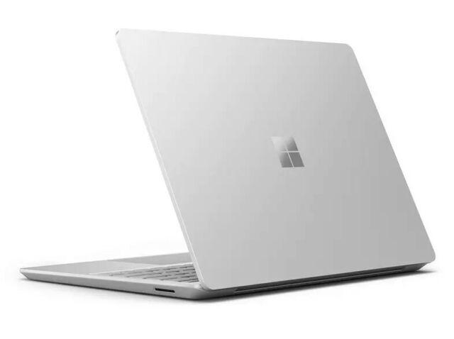 MICROSOFT Surface Laptop Go, 12,45 Zoll Display, i5, 8GB RAM, 128GB SSD, Platin