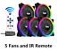 Aigo-DR12-PRO-5in1-120mm-Computer-PC-Case-Cooling-Fan-LED-Light-Effect-Cooler thumbnail 1