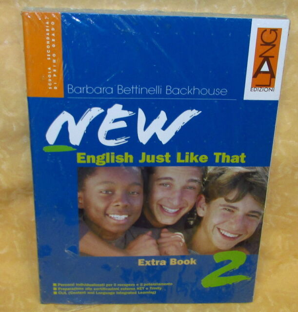 LIBRO NEW ENGLISH JUST LIKE THAT 2 ISBN 9788842476528 ED.LANG cod.18733