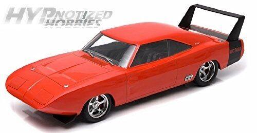 il più alla moda verdelight 1 18 su Misura Misura Misura 1969 Dodge Charger Daytona autobus modellolino Arancione  confortevole