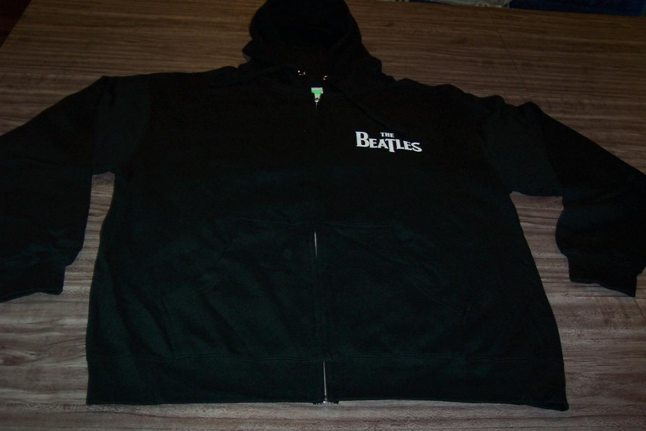 THE BEATLES  1 ALBUMS ZIPPERDOWN HOODIE HOODED Sweatshirt 2XL XXL NEW