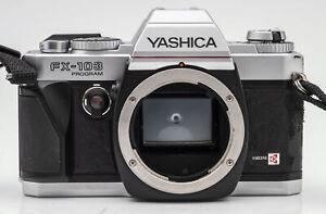 Yashica-fx-103-Program-body-chassis-SLR-fotocamera-reflex