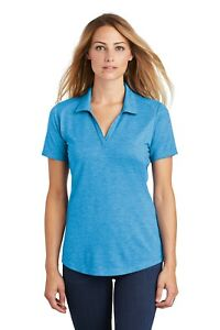 Womens-Ladies-Polo-Golf-Tennis-Shirt-Dri-Fit-Moisture-Wicking-Sport-Tek-LST405