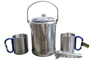 Camping-Coffee-Pot-Set-with-2-Carabiner-Mugs-and-Hot-Handle-Pot-Holder