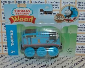 Thomas-Friends-Wood-Wooden-THOMAS-THE-TANK-Engine-Train-FULLY-PAINTED-GGG29