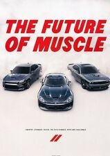 2016 Dodge Challenger Charger Viper Original Advertisement Print Art Car Ad J547