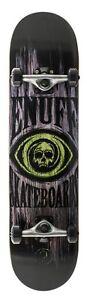Enuff-Skull-Complete-Skateboard-Green-7-75-034-FREE-SHIPPING-FREE-STICKER