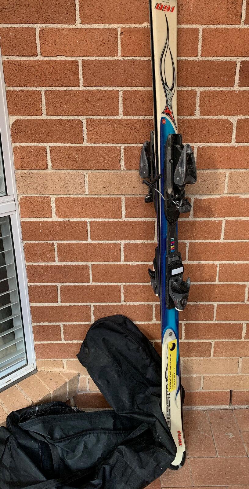 ROSSIGNOL Roc X 160cm Snow Ski with binder Set
