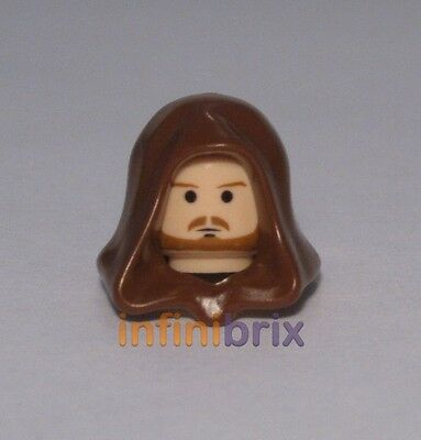 Qui-Gon Jinn // Qui Gon Set 7665 Figure Head Star Wars NEW LEGO