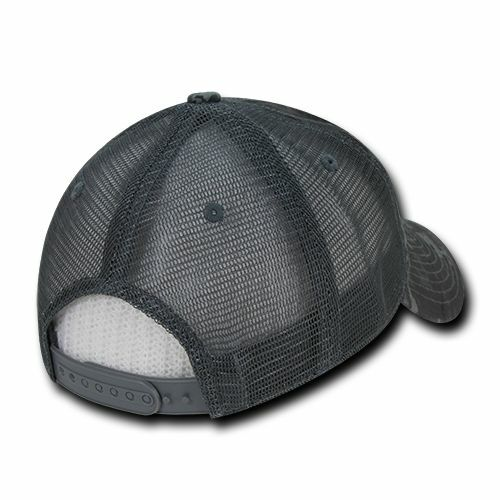 NTG Camo Cotton Mesh Relaxed Ball Low Crown Curved Trucker Baseball Ball Relaxed Cap Hat f9adfa