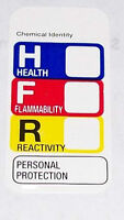 500 1x2 Hmis Msds Right To Know Label Sticker