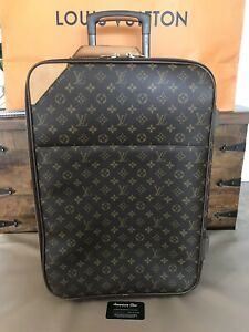 860acac3e Image is loading Authentic-Louis-Vuitton-Monogram-Pegase-55-Carry-On-