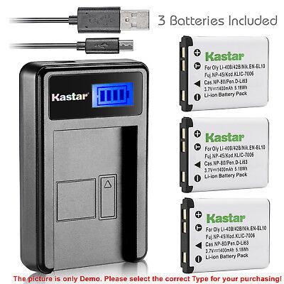 Cámara de batería cargador Micro USB para Casio Exilim ex-n1 ex-n20 ex-n10