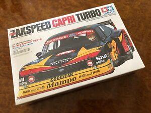 Tamiya 1:24 Course Zakspeed Ford Capri Turbo Usine Emballé Boîte