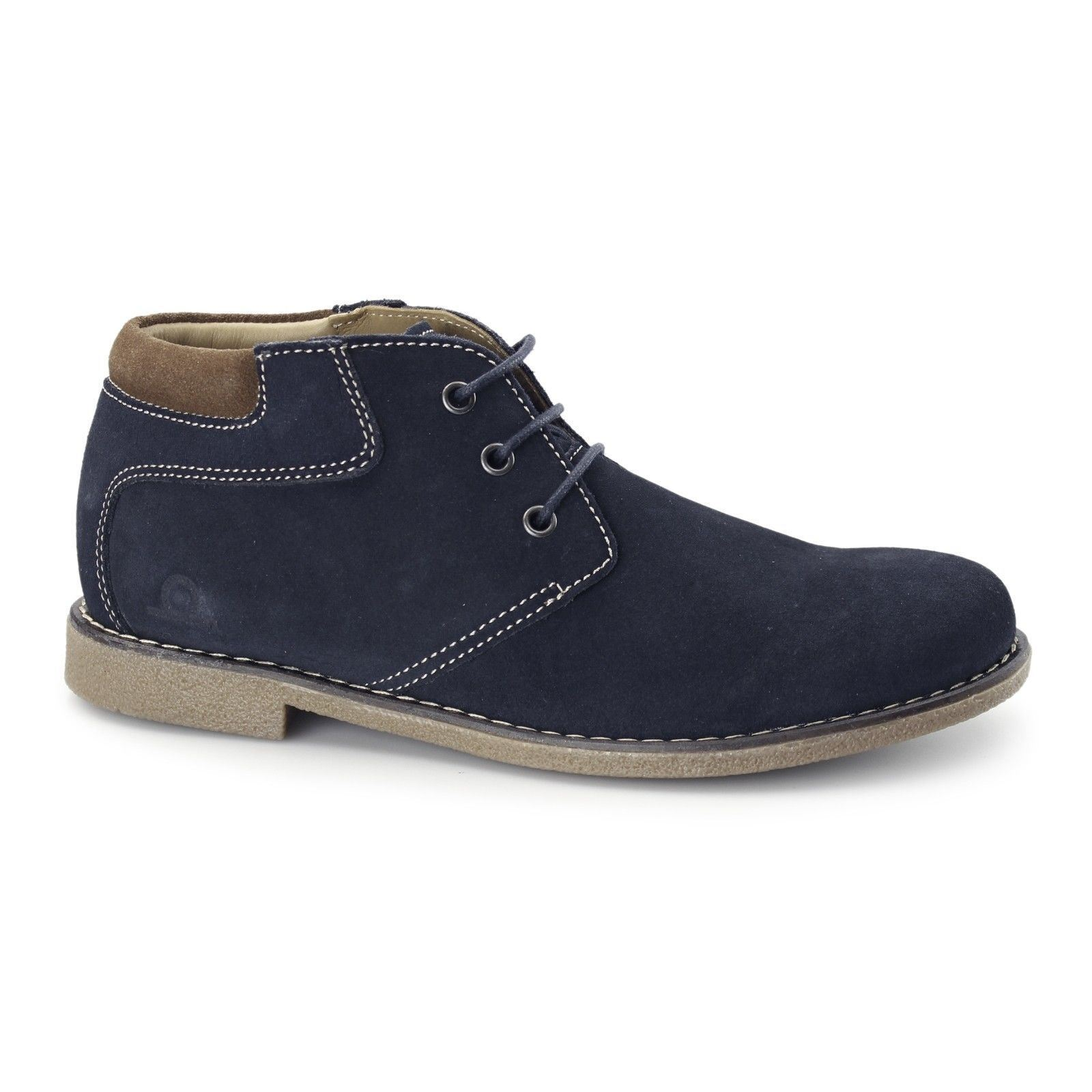 Chatham Tor Navy Suede Desert Boots In Size UK7 to UK15