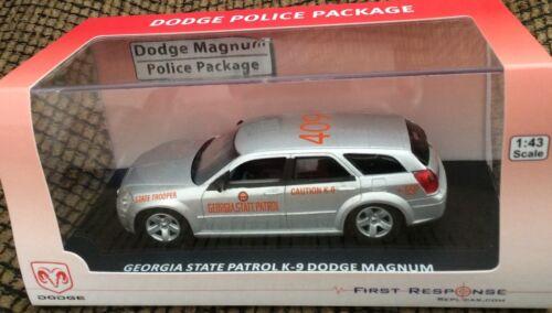Georgia State Patrol Police Trooper K-9 Unit 2009 DODGE MAGNUM First Response