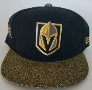 Las-Vegas-Golden-Knights-Glitter-Shiny-New-Era-NHL-9fifty-Snapback-Cap-Hat