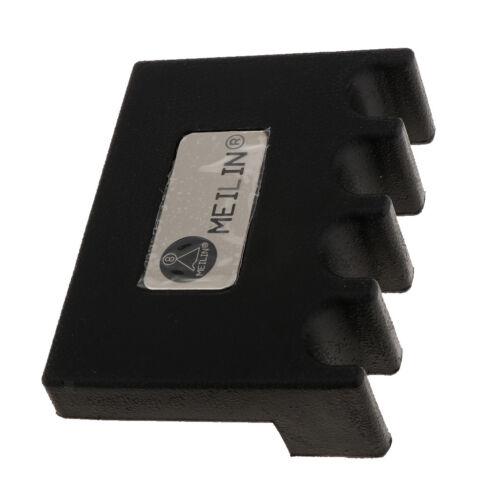 Tragbare Billard Snooker Stick Rack Pool Queue Halter Stand schwarz