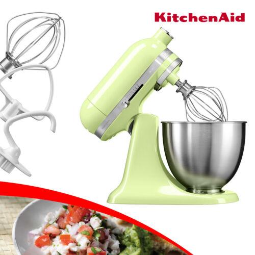 Kitchen Aid 5KSM3311XEHW 3,3-L-Mini-Küchenmaschine kippbarer Kopf HONEYDEW