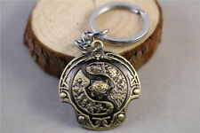 HOT Dota2 Aegis of Champions Model Keychain Pendant Key ring Collectible Gift