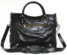 New $2000 + Tax Balenciaga Velo Giant Black Arena Classic Leather Messenger Bag