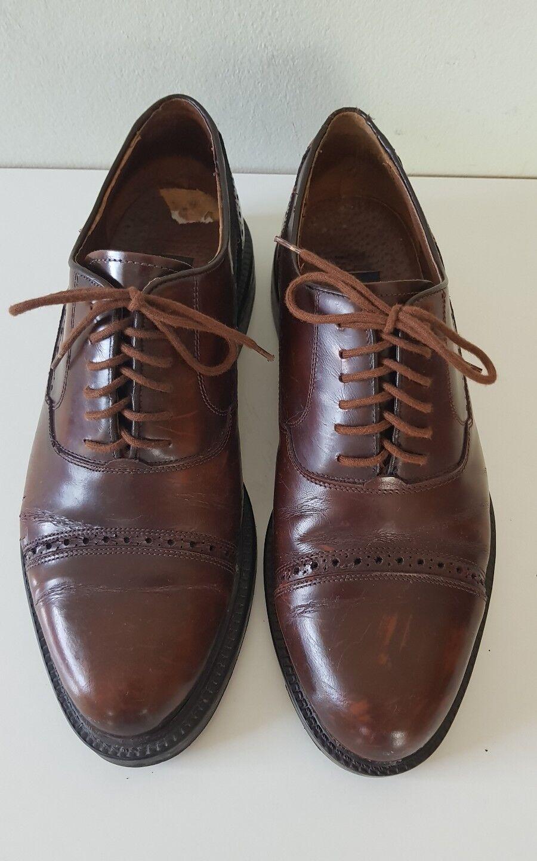 Herren Business Schuhe  BENTLEY,Gr 43 Braun