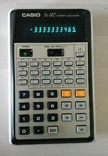 Vintage Casio fx-102 Scientific Calculator