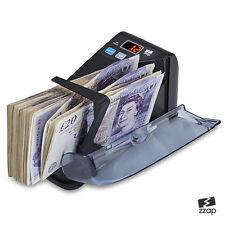 Banca Nota Soldi Banconote CONTATORE valuta conteggio veloce Libbra Cassa MacChina
