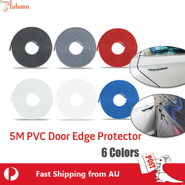 5M PVC Car Body Door Edge Protector Strip Guard Moulding Trim Auto Bumper