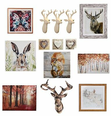 Autumn Country Nature Wall Art Pictures Canvas Home Decor Accessories Ebay