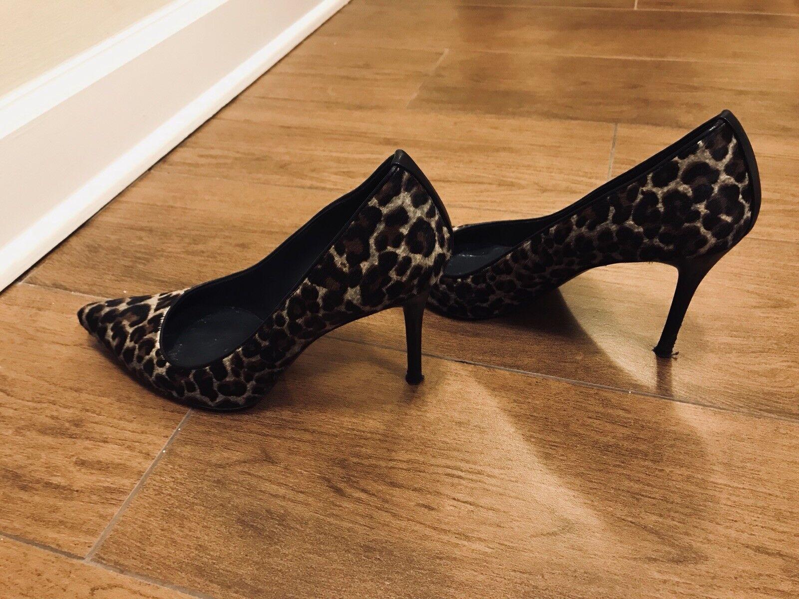 Stuart Weitzman Leopard Print Size Heels Size Print 8.5 c9e63b