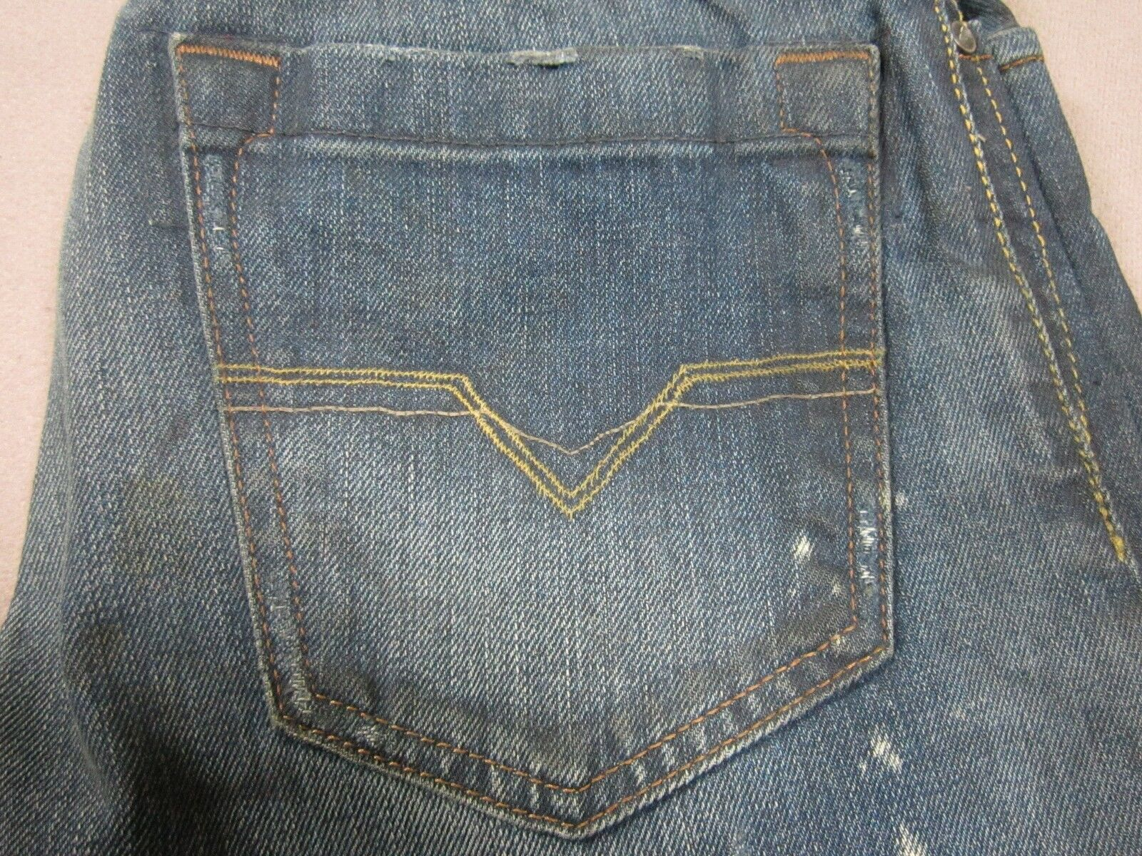 DIESEL SHAZOR 732 MENS CLASSIC SLIM BOOTCUT LEG JEANS SIZE 26 NEW MADE IN ITALY