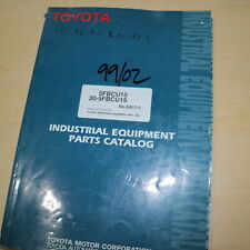 Toyota 30 5fbcu15 Cold Storage Type 20s Forklift Parts Manual Book Catalog List