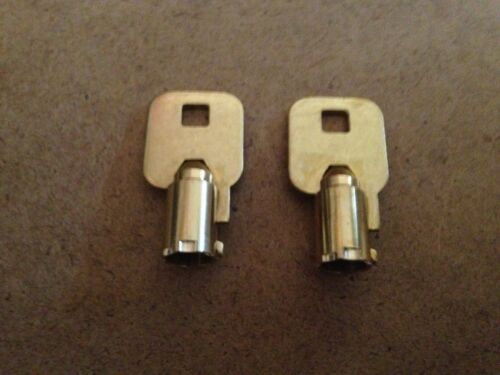 2 Craftsman or Viper Tubular Toolbox Lock Key Code C032 Chest Tool Box Keys