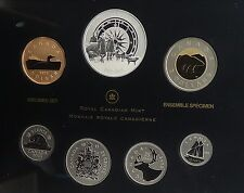 2013 Canadian Arctic Expedition 100th Anniversary Silver Dollar Specimen Set