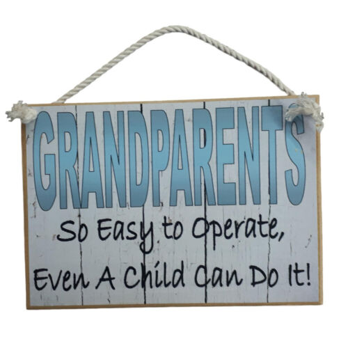 Country Printed Quality Wooden Sign Grandparents Funny Inspiring Plaque New